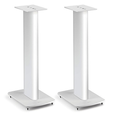 KEF Performance Blanc Pack de 2 pieds pour enceintes LS50, LS50 Wireless et bibliothèques
