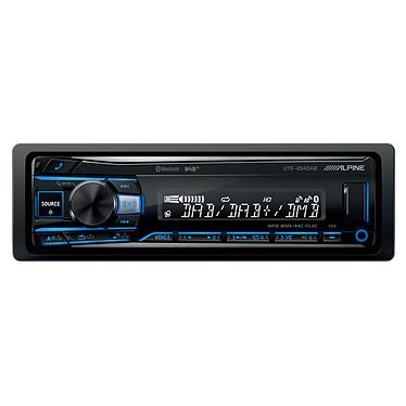 Alpine UTE-204DAB Autoradio MP3 avec port USB compatible iPod / iPhone, Bluetooth et entrée auxiliaire