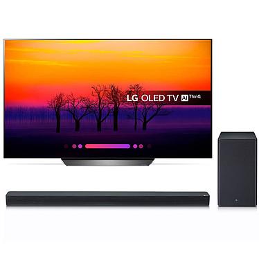 LG OLED65B8 + SK8