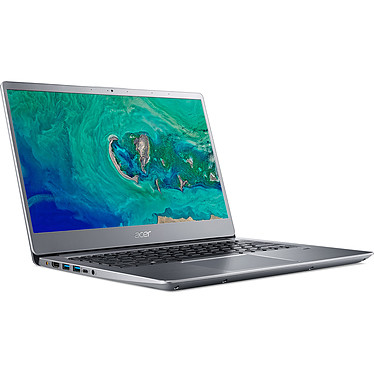 "Acer Swift 3 SF314-54G-39S1 Gris Intel Core i3-8130U 4 Go SSD 128 Go + HDD 1 To 14"" LED Full HD NVIDIA GeForce MX150 2 Go Wi-Fi AC/Bluetooth Webcam Windows 10 Famille 64 bits"