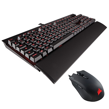 Corsair Gaming K70 LUX (Cherry MX Red) + Gaming Harpoon