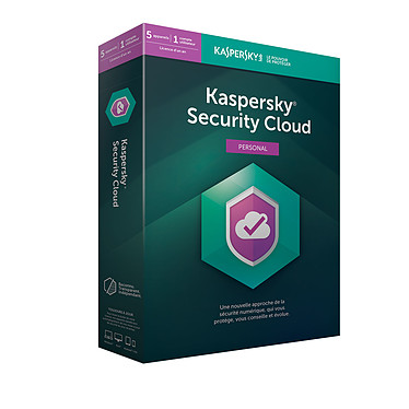 Kaspersky Security Cloud Personal Suite de sécurité internet - Licence 1 an 5 postes (français, Windows, Mac, Android, iPhone et iPad)