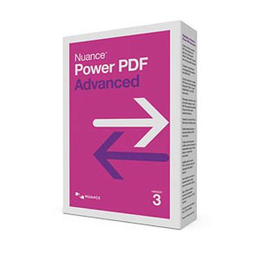 Nuance Power PDF Advanced version 3 Logiciel de traitement PDF (français, WINDOWS)