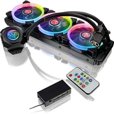 Raijintek Orcus 360 Kit de watercooling à rétro-éclairage RGB pour processeur