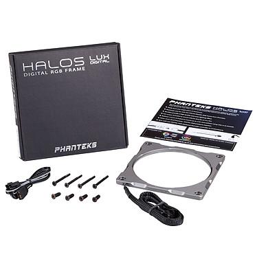 Phanteks Halos Lux RGB Fan Frame 120 mm - Argent pas cher