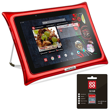 QOOQ Ultimate 32 Go Rouge + Carte SD 32 GB OFFERTE !
