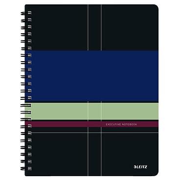 Leitz Executive Get Organised Cahier Spirale 160p A4 petits carreaux Cahier à spirale intégrale latérale 21 x 29.7 cm 160 pages petits carreaux 5 x 5 mm