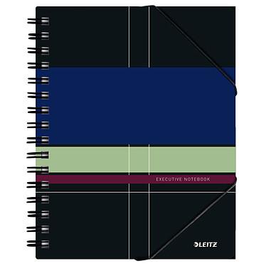 Leitz Executive Be Mobile Cahier Spirale 80p A5 ligné Cahier à spirale intégrale latérale avec fermeture élastique 14.8 x 21 cm 80 pages ligné
