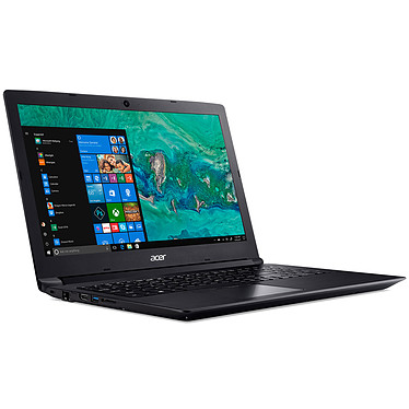 "Acer Aspire 3 A315-53-35GJ Intel Core i3-7020U 4 Go SSD 256 Go + HDD 1 To 15.6"" LED Full HD Wi-Fi AC/Bluetooth Webcam Windows 10 Famille 64 bits"