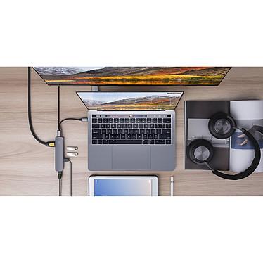 Avis HyperDrive USB-C 6-en-1 (Gris)