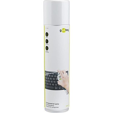 Goobay Compressed air spray (600 ml) Bombe dépoussiérante 600 ml (Livraison INTERDITE dans les DOM/TOM et CT)