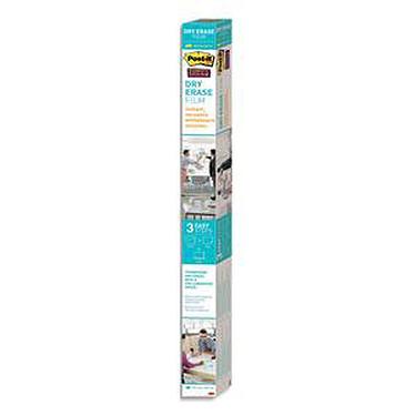 Post-it Tableau blanc en rouleau Super Sticky 1219 mm x 1829 mm Tableau blanc en rouleau effaçable à sec 1219 mm x 1829 mm Blanc