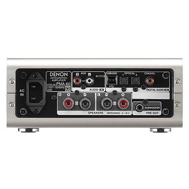 Acheter Denon PMA-60 + KEF Q350 Noir
