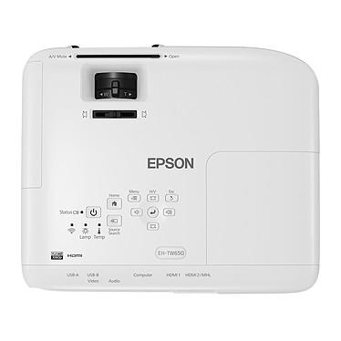 Acheter Epson EH-TW650 + LDLC Ecran Manuel - Format 16:9 - 200 x 113 cm