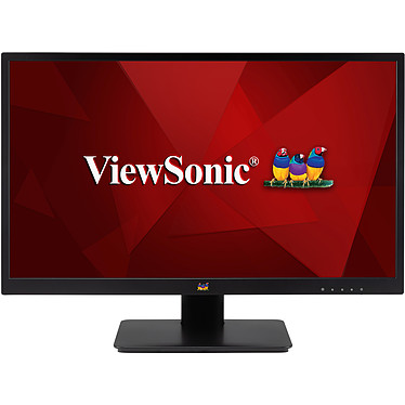 "ViewSonic 23.8"" LED - VA2410-MH 1920 x 1080 pixels - 5 ms - Format large 16/9 - Dalle IPS - HDMI - Noir"