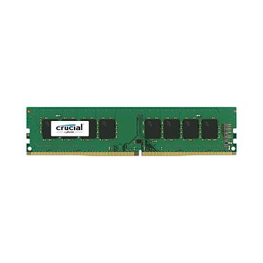 Crucial DDR4 4 Go 2666 MHz CL19 SR X8 RAM DDR4 PC4-21300 - CT4G4DFS8266 (garantie à vie par Crucial)