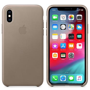 Apple Funda de cuero de Apple Topo Apple iPhone Xs