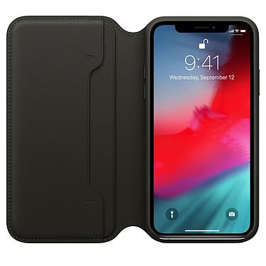 Avis Apple Étui Folio en cuir Noir Apple iPhone Xs