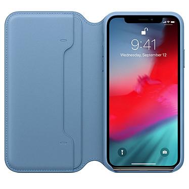 Opiniones sobre Apple Funda de piel Folio Azul Apple iPhone Xs