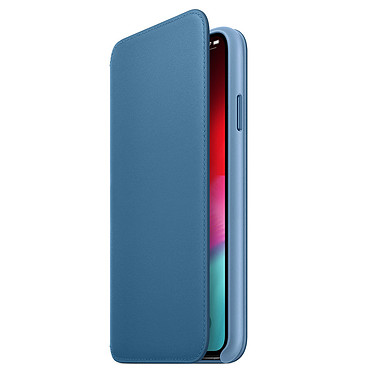 Apple Funda de piel Folio Azul Apple iPhone Xs Max