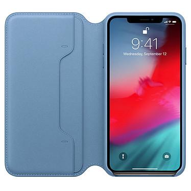 Opiniones sobre Apple Funda de piel Folio Azul Apple iPhone Xs Max