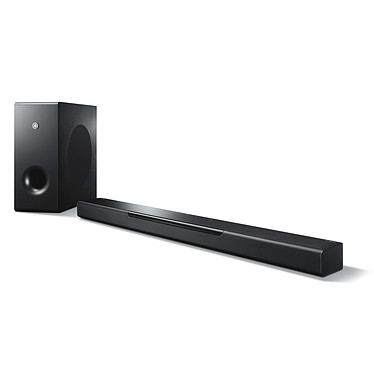 Yamaha MusicCast BAR 400 Barre de son 2.1 Bluetooth avec son 3D Surround DTS Virtual:X, MusicCast Surround, AirPlay et subwoofer sans fil