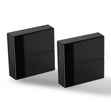 Meliconi Ghost Cube Cover negro Tapas de cables y enchufes - 200 x 205 mm