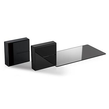 Meliconi Ghost Cube Shelf negro Tapa para cables y tomas de corriente con estante para equipos de audio y vídeo