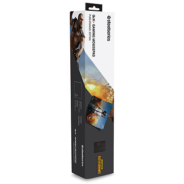 Avis SteelSeries QcK+ (PUBG Erangel Edition)