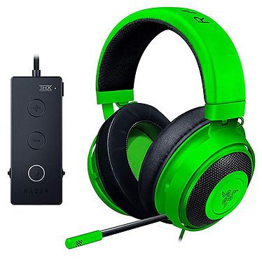 Razer Kraken Tournament Edition (vert) Casque-micro pour gamer - circum-auriculaire fermé - télécommande intégrée - certifié THX Spatial Audio