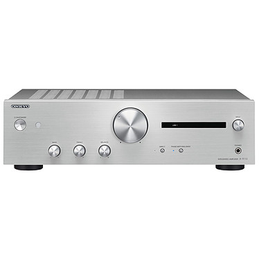 Onkyo A-9110 Argent Amplificateur stéréo 2 x 50 W avec technologie WRAT et entrée phono