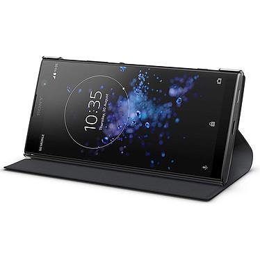 Avis Sony Style Cover Stand Noir Xperia XA2 Plus