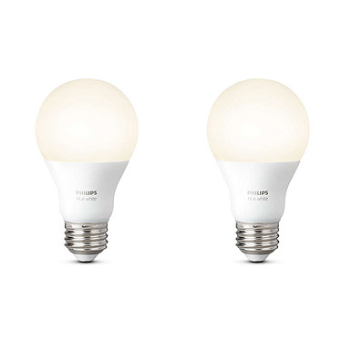 Philips Hue White E27 x 2