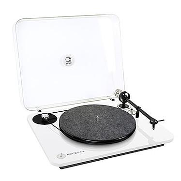 Acheter Elipson Omega 100 RIAA Blanc + KEF LS50 Wireless Gris Titane / Bordeaux