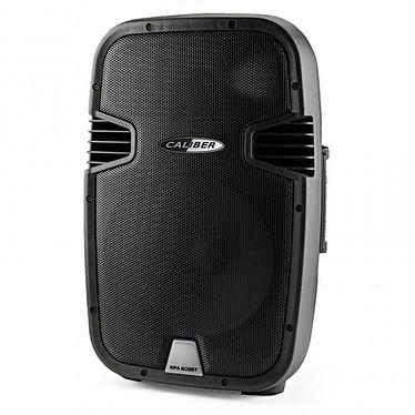 Caliber HPA 603BT Haut-parleur 60 W Bluetooth portatif avec batterie intégrée, radio FM et karaoké