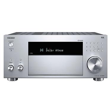 Onkyo TX-RZ830 Argent Ampli-tuner Home Cinéma 9.2 - 180 Watts - THX - Wi-Fi/Bluetooth - Dolby Atmos - DTS:X - Multiroom - 4K/60p - HDCP 2.2 - AirPlay/Chromecast - Hi-Res Audio - 7 entrées HDMI
