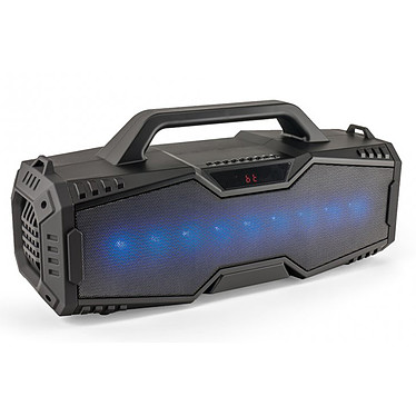 Caliber HPG529BTL Altavoz FM nómada Bluetooth con iluminación multicolor