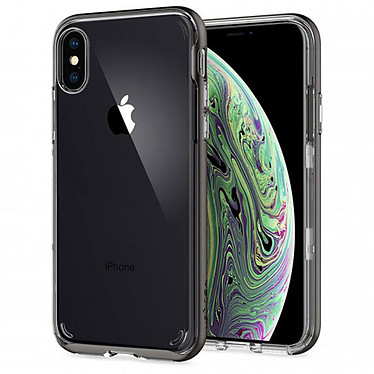 Spigen Case Neo Hybrid Transparent iPhone X / Xs Funda de protección para Apple iPhone X / Xs
