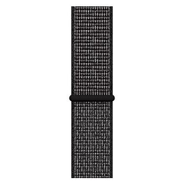 Avis Apple Watch Nike+ Series 4 GPS Aluminium Gris Boucle Sport Noir 44 mm