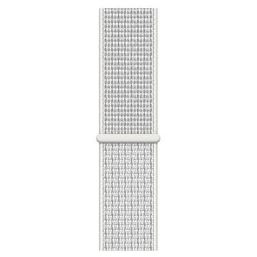 Avis Apple Watch Nike+ Series 4 GPS Aluminium Argent Boucle Sport Blanc 44 mm