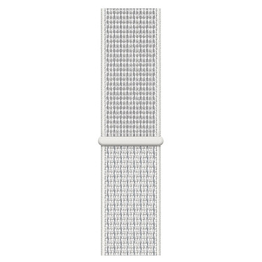 Avis Apple Watch Nike+ Series 4 GPS Aluminium Argent Boucle Sport Blanc 40 mm