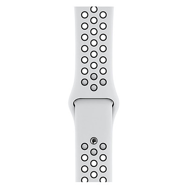 Avis Apple Watch Nike+ Series 4 GPS Aluminium Argent Sport Platine pur/Noir 44 mm