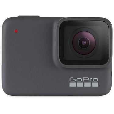 GoPro HERO7 Silver Caméra sportive étanche 4K avec photo 10 MP, écran tactile, contrôle vocal, Wi-Fi, Bluetooth, GPS et QuikStories