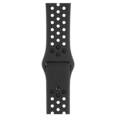 Avis Apple Watch Nike+ Series 4 GPS + Cellular Aluminium Gris Sport Anthracite/Noir 44 mm
