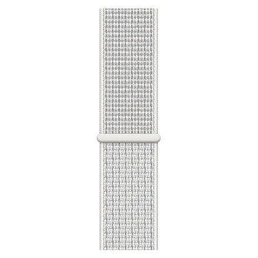 Avis Apple Watch Nike+ Series 4 GPS + Cellular Aluminium Argent Boucle Sport Blanc 44 mm