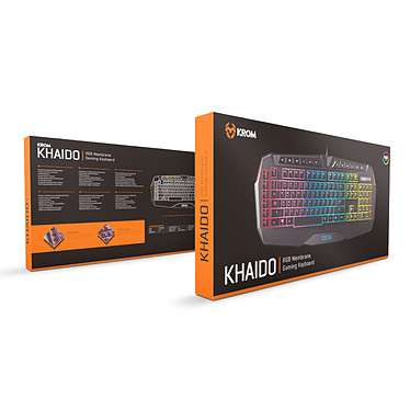 Teclado Gaming KROM Khaido Iluminacion RGB a bajo precio