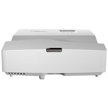 Optoma W330UST Vidéoprojecteur DLP WXGA Full 3D 3600 Lumens avec focale ultra-courte, 2 entrées HDMI, Ethernet et haut-parleur intégré