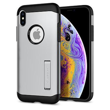 Spigen Case Slim Armor Satin Silver iPhone X / Xs
