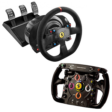 Thrustmaster T300 Ferrari Alcantara Edition + Ferrari F1 Wheel Add-On