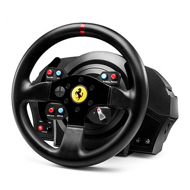 Avis Thrustmaster T300 Ferrari GTE Wheel + Ferrari F1 Wheel Add-On